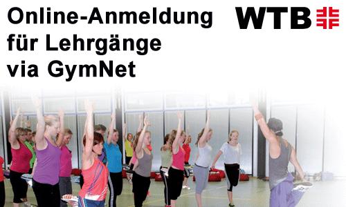 GymNet-Anmeldung